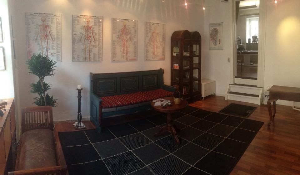 Venteværelset hos den glade zone